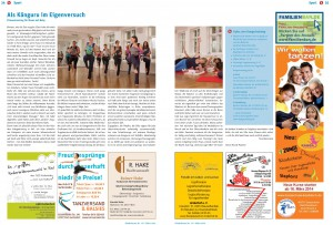 Artikel in der Kinderkram - Mai 2014